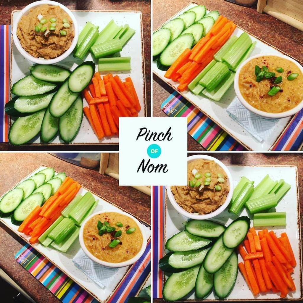 Thought we'd have a colourful supper! ? Made some Syn free caramelised onion hummus, Syn free Sweet Chilli hummus - served with Cucumber, ery and carrot batons ??? #slimmingworld #slimmingworlduk #slimmingworldusa #slimmingworldfamily #slimmingworldmotivation #slimmingworldmafia #slimmingworldjourney #sw #swuk #swinstagram #healthyeating #weightloss #weightlossjourney #supper #vegetables #crudités #hummus #snack #colour #