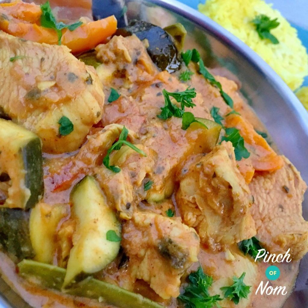 Syn Free Creamy Chicken Curry