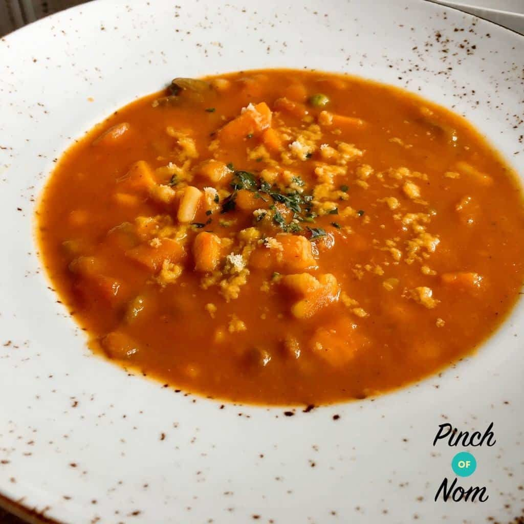 Syn Free Minestrone Soup