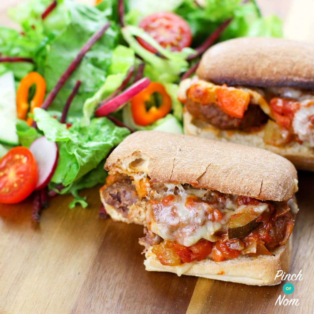 Meatball Marinara Slider