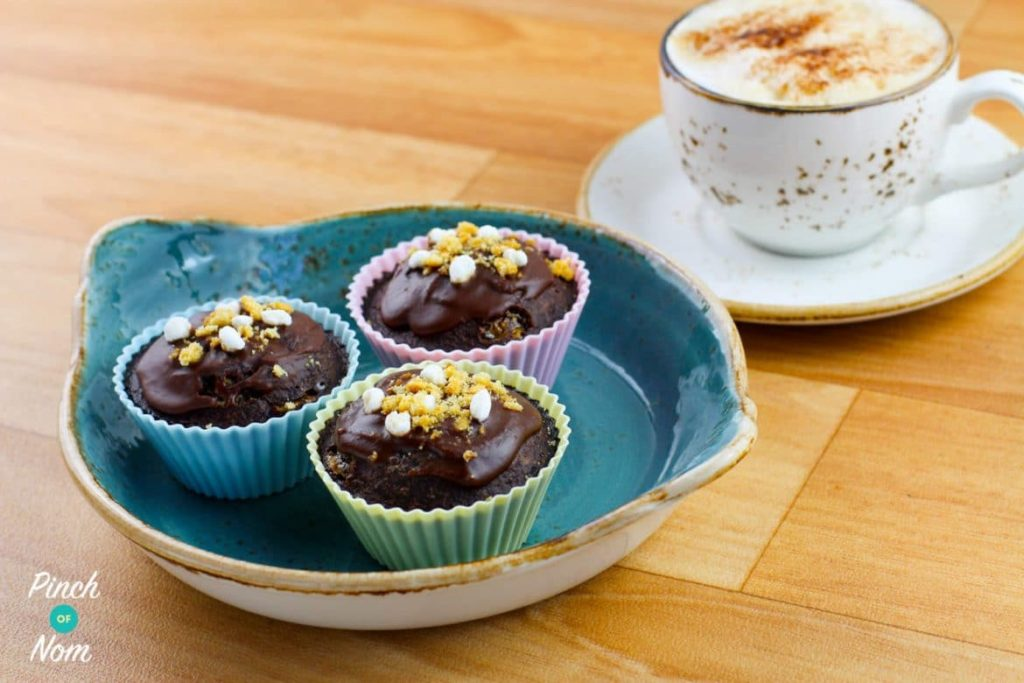 1.5 Syn Scan Bran Rocky Road Muffins | Slimming World