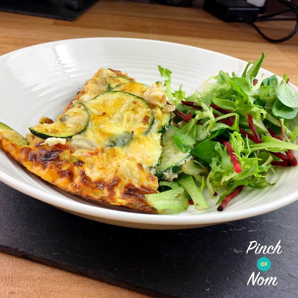 Syn Free Courgette & Butterbean Frittata | Slimming World ...