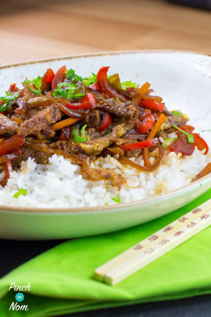Crispy Chilli Beef | Slimming World