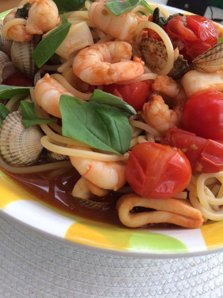 Syn Free Seafood Pasta | Slimming World