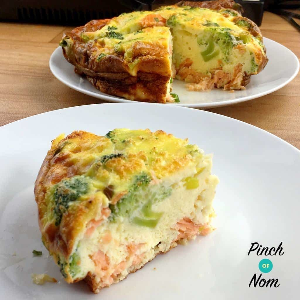 Smoked Salmon & Broccoli Quiche 3