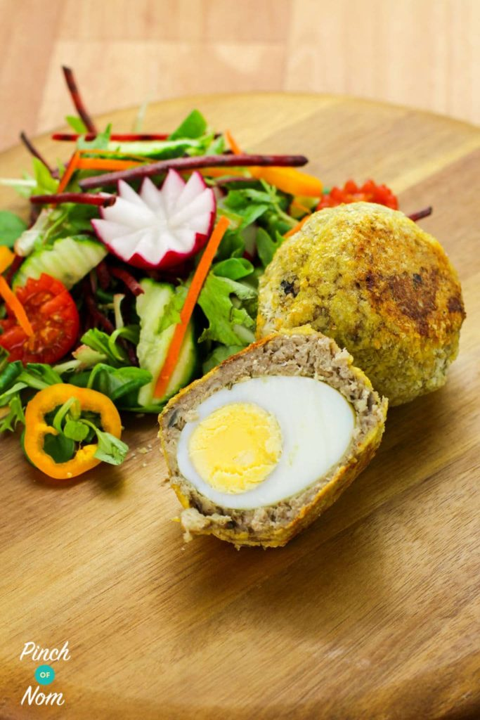 Syn Free Vegetarian Scotch Eggs | Slimming World