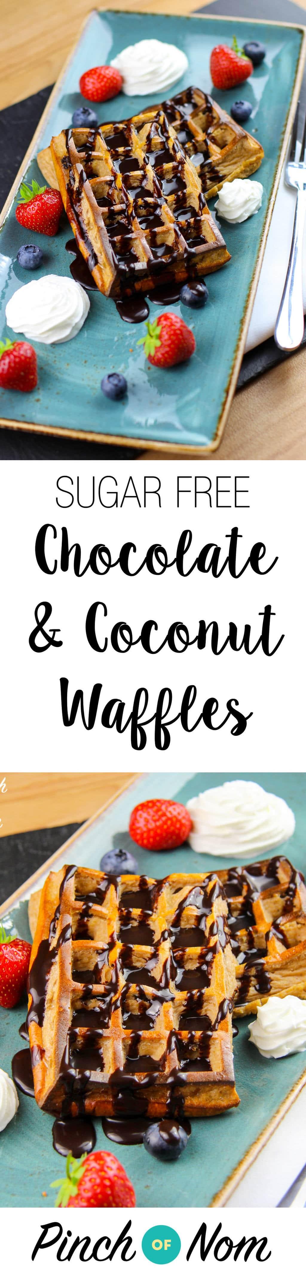 coconut-waffles-sugar-free