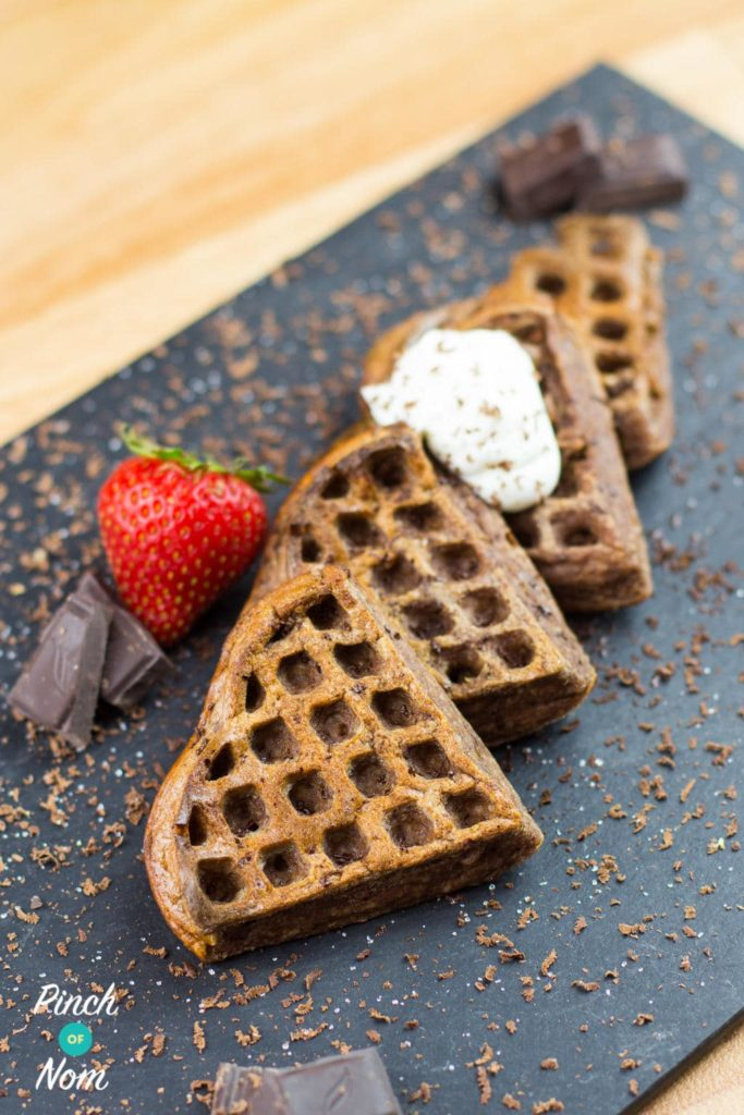 1 Syn Chocolate Waffles | SlimmingWorld