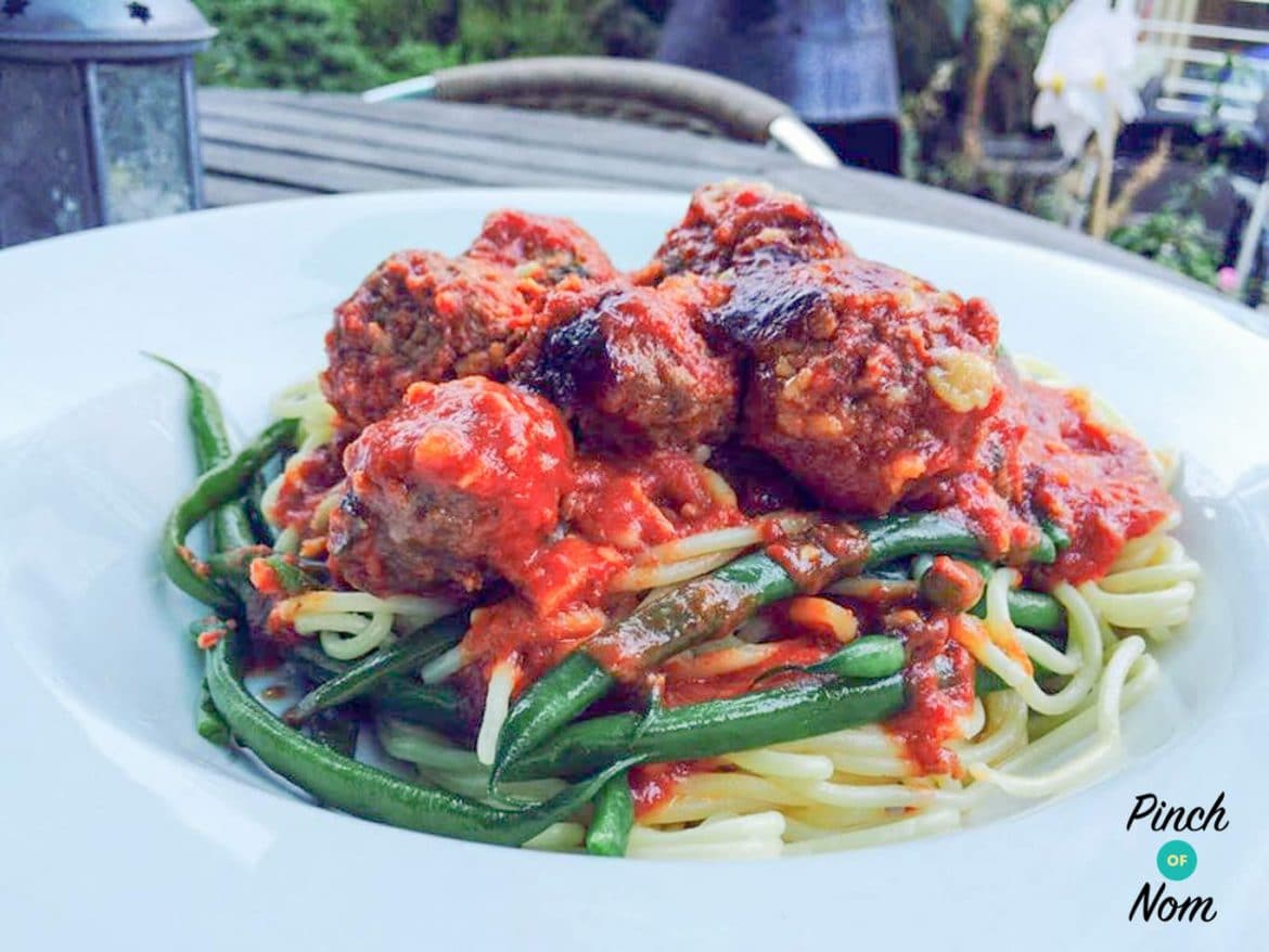 Low Syn Baked Spicy Meatballs | Slimming World
