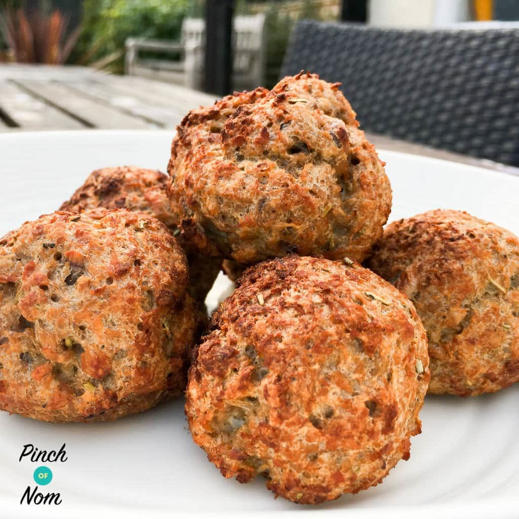Half Syn Stuffing Balls | Slimming World
