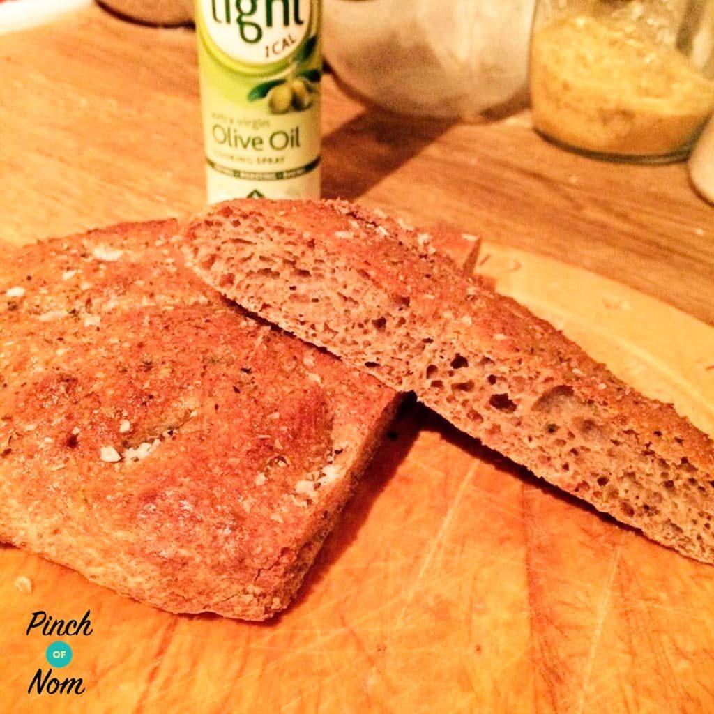 Syn Free Fougasse Bread