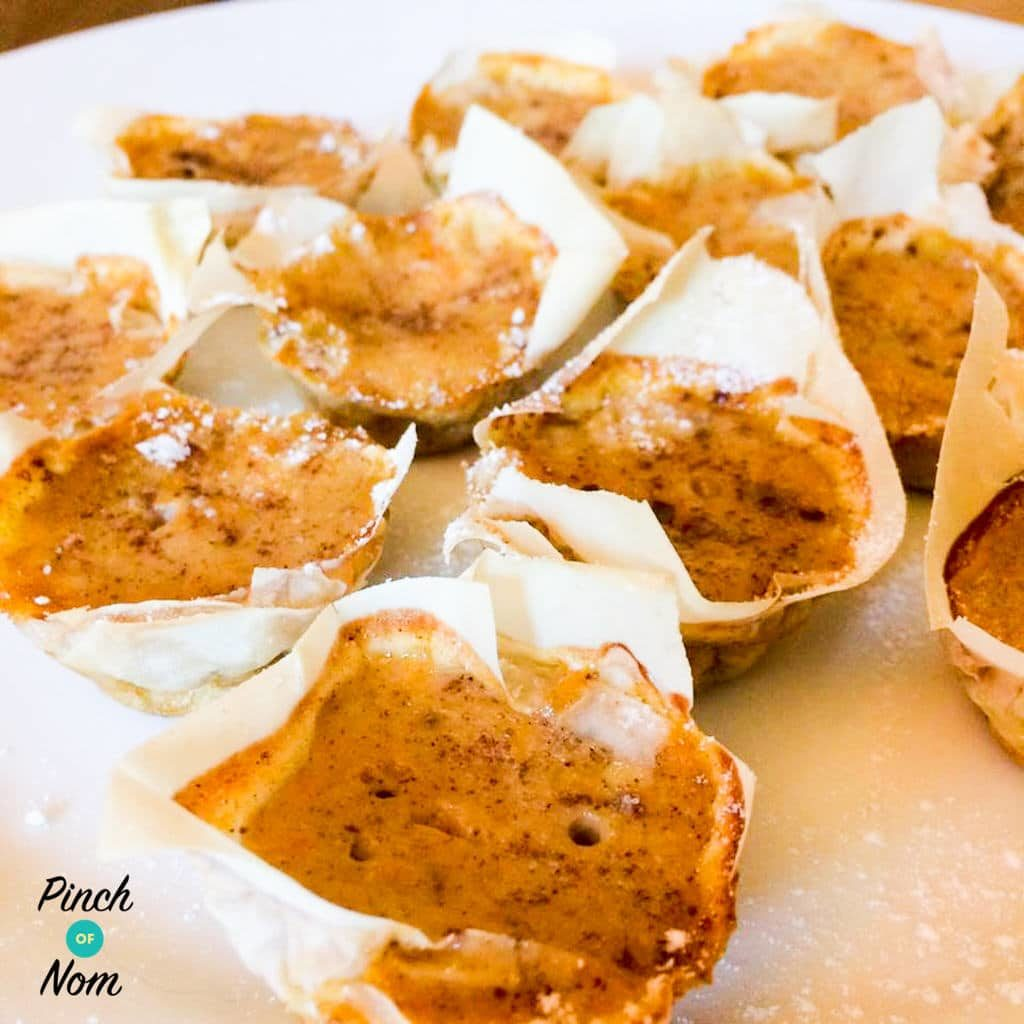 Low Syn Mini Pumpkin Pies | Slimming World
