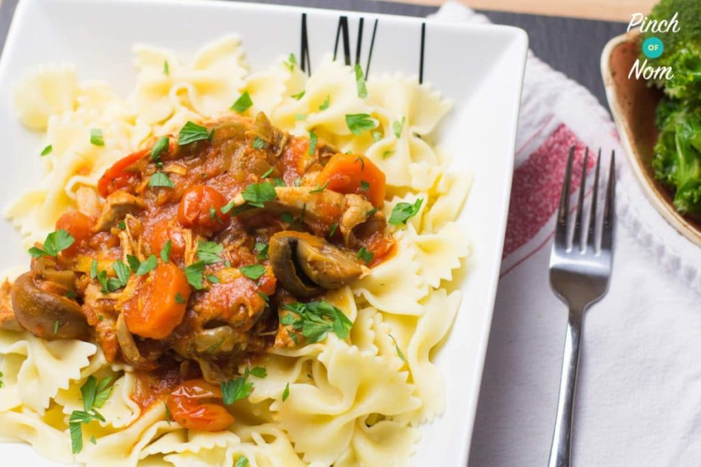 Syn Free Slow Cooker Chicken Cacciatore | Slimming World ...