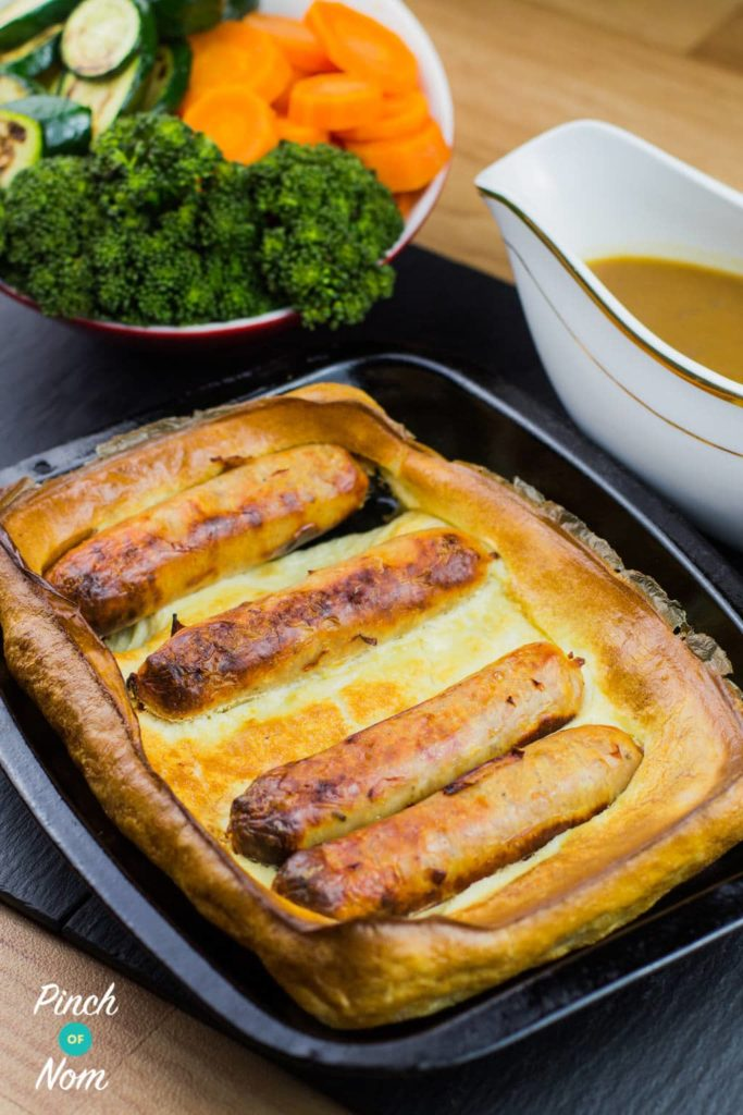 low syn toad in the hole slimming world pinch of nom